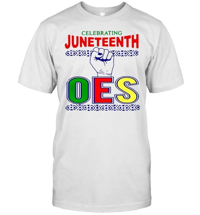 Celebrating Juneteenth Oes  Classic Men's T-shirt