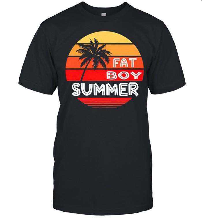 Fat Boy Summer vintage shirt Classic Men's T-shirt