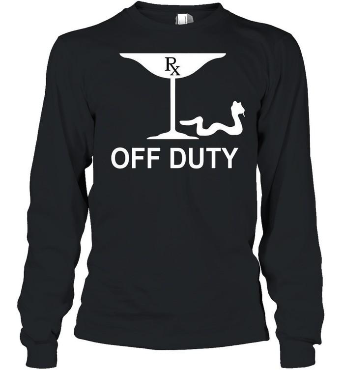 RX Off Duty shirt Long Sleeved T-shirt