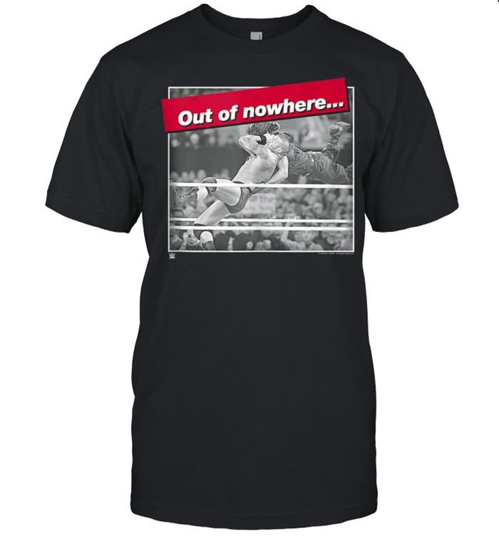 WWE RKO Out Of Nowhere Randy Orton shirt Classic Men's T-shirt