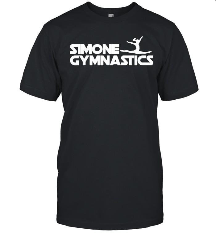 Simone Gymnastics Wins Another Record White shirt Classic Men's T-shirt