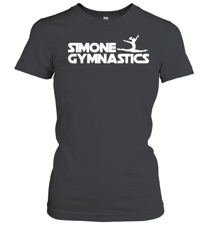 Simone Gymnastics Wins Another Record White shirt Classic Women's T-shirt