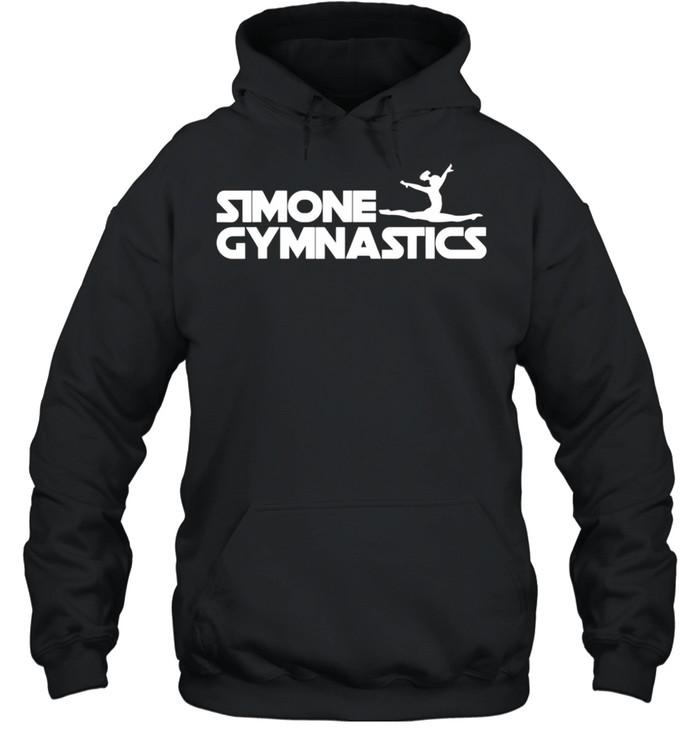 Simone Gymnastics Wins Another Record White shirt Unisex Hoodie
