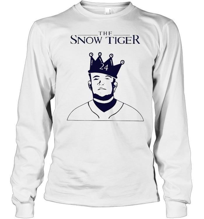 miguel cabrera the snow tiger shirt long sleeved t shirt