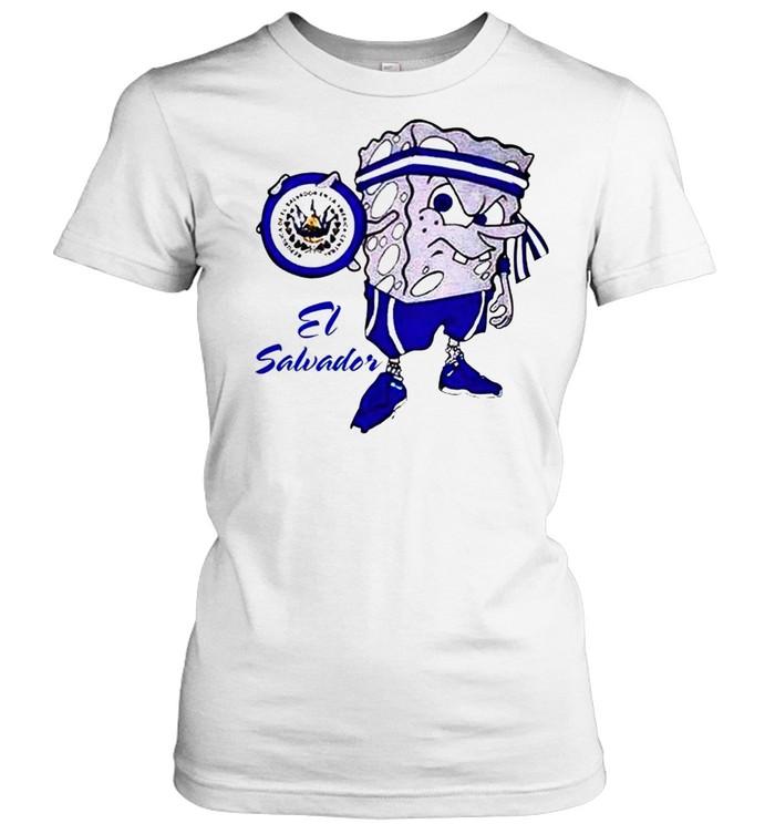 Spongebob El Salvador shirt Classic Women's T-shirt