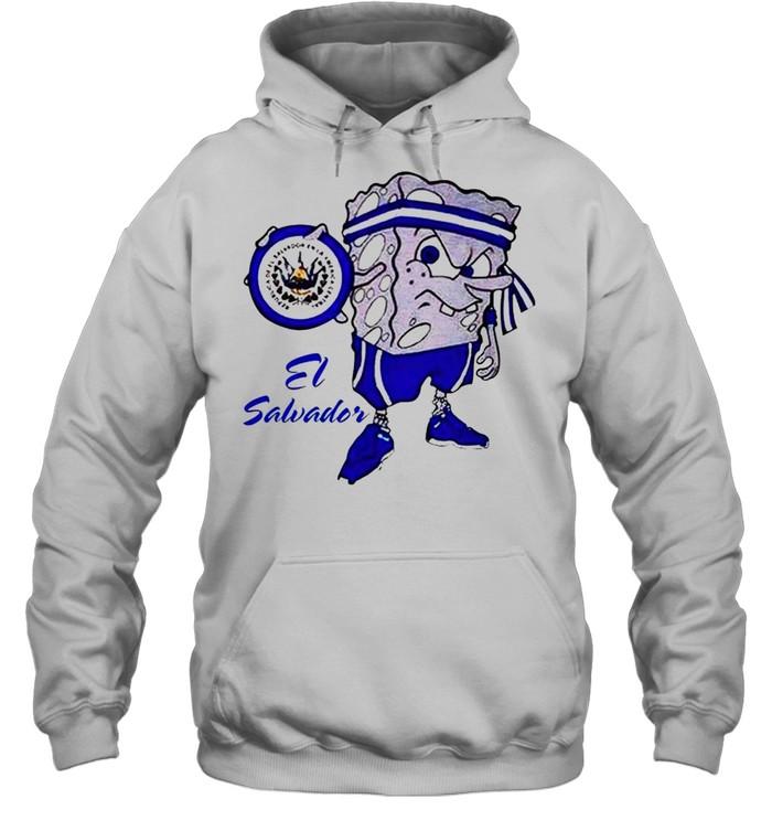 Spongebob El Salvador shirt Unisex Hoodie