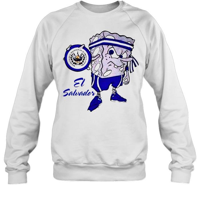 Spongebob El Salvador shirt Unisex Sweatshirt
