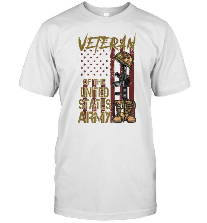 Veteran Of The United States Army American Flag Vintage shirt Classic Men's T-shirt