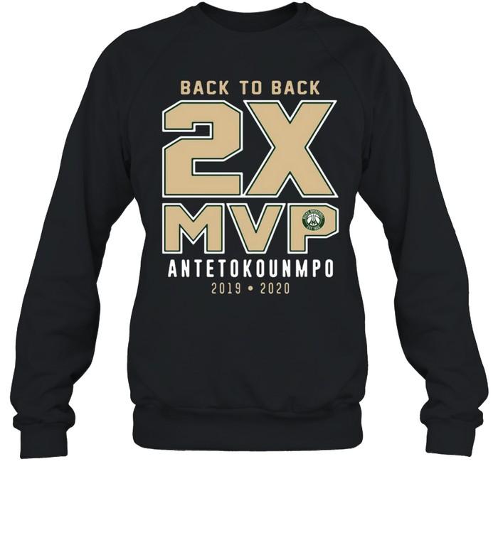 Giannis Antetokounmpo 2019-20 NBA MVP Milwaukee Bucks shirt Unisex Sweatshirt