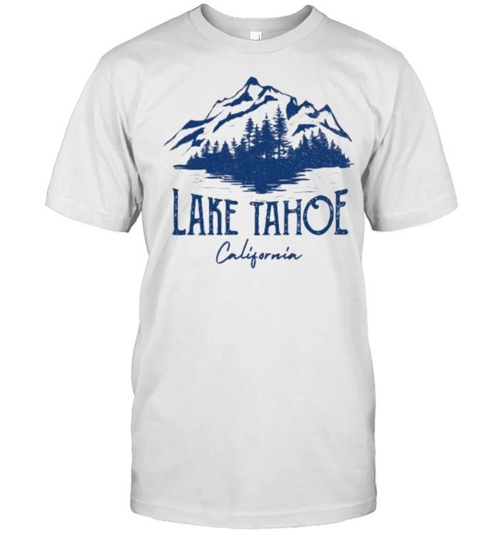 Lake Tahoe California Mountain T- Classic Men's T-shirt