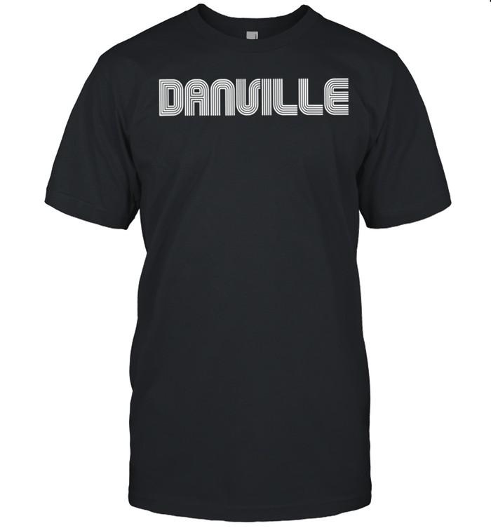 Danville Vintage Retro 60s 70s 80s shirt Classic Men's T-shirt