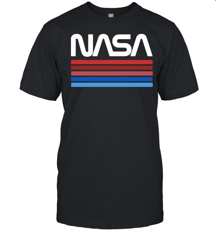NASA Worm Logo Vintage T- Classic Men's T-shirt