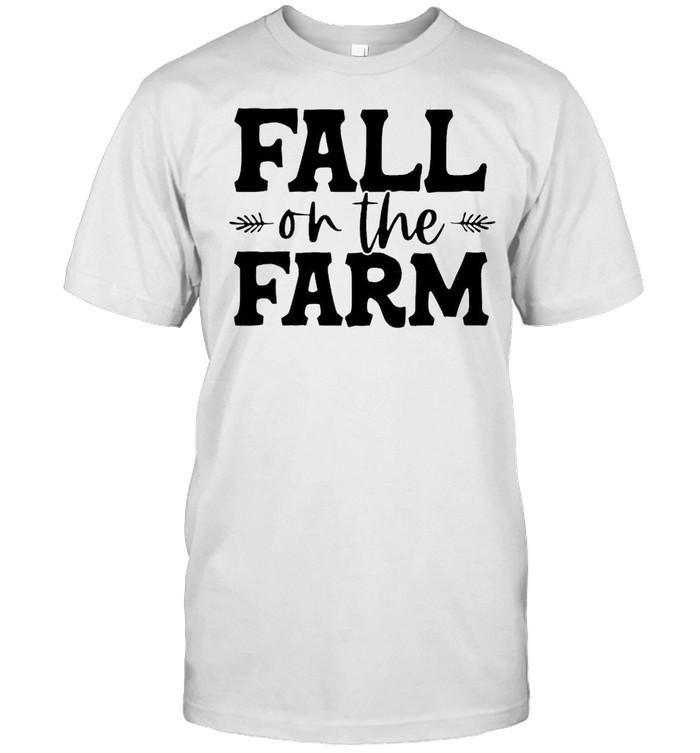 Fall on the farm shirt Classic Men's T-shirt