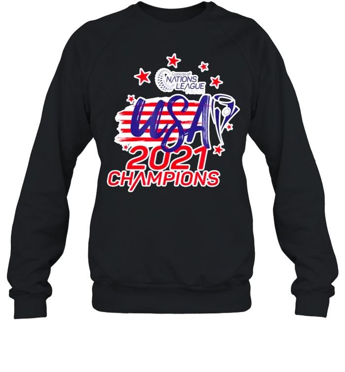 Gold cup concacaf usa 2021 champions shirt Unisex Sweatshirt