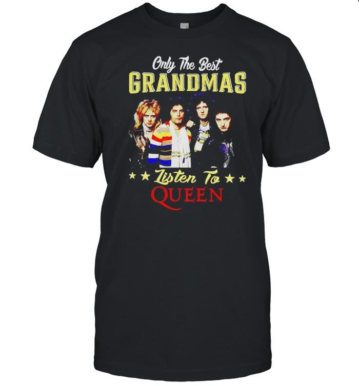 Only the best grandmas listen to Queen band shirt Classic Men's T-shirt