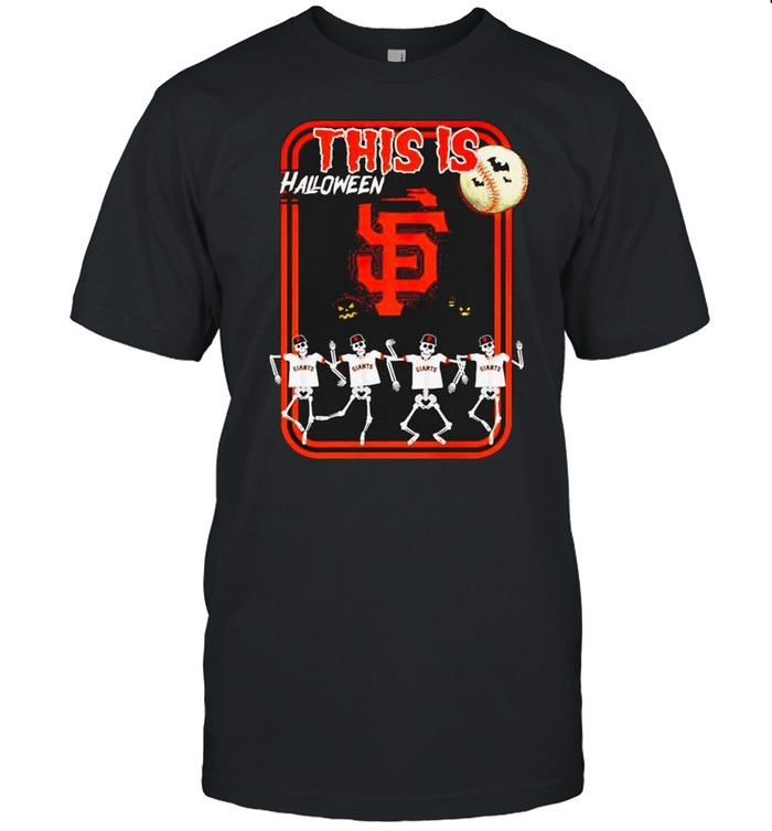 San Francisco Giants this is Halloween shirt Classic Men's T-shirt