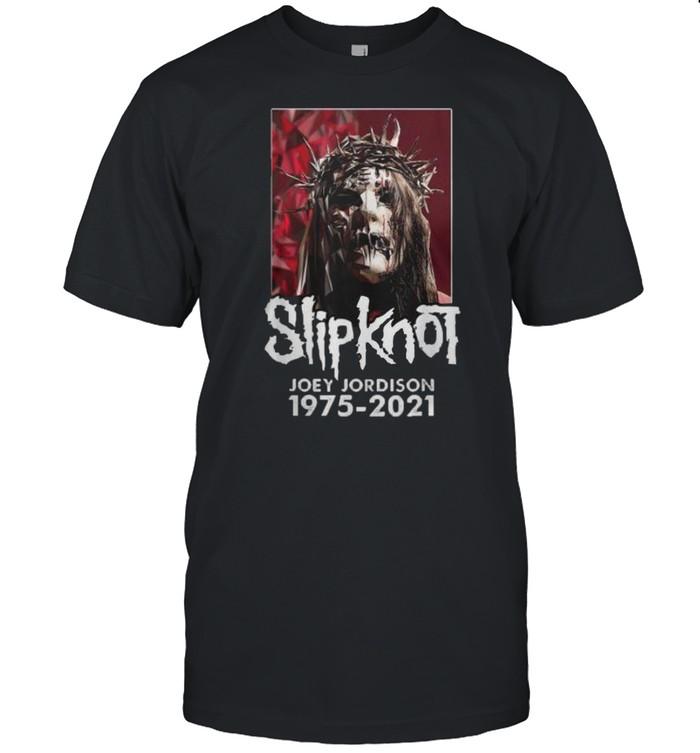 Slipknot joey jordison 1975 2021 shirt Classic Men's T-shirt