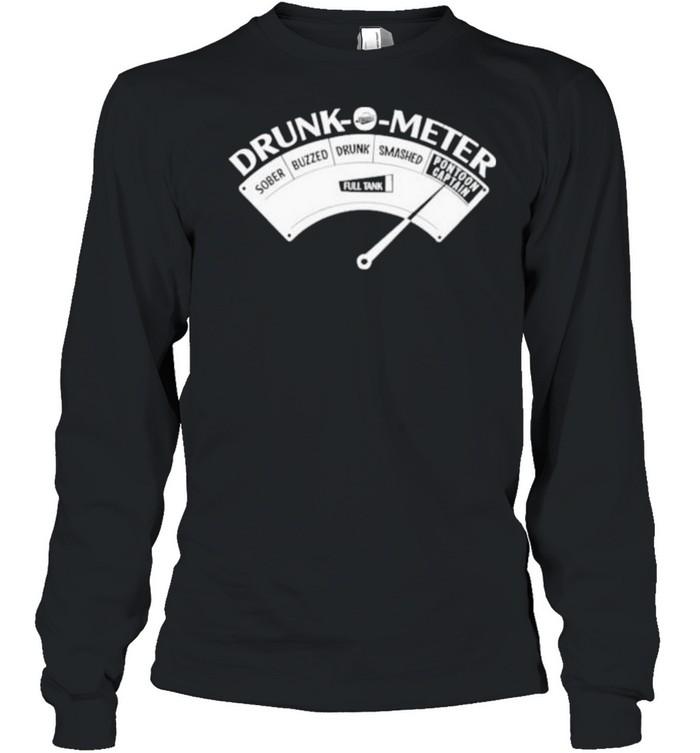 Original pontoon Drunk O Meter  Long Sleeved T-shirt