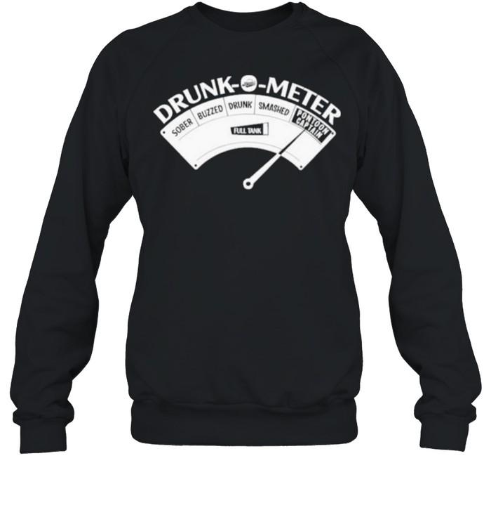 Original pontoon Drunk O Meter  Unisex Sweatshirt