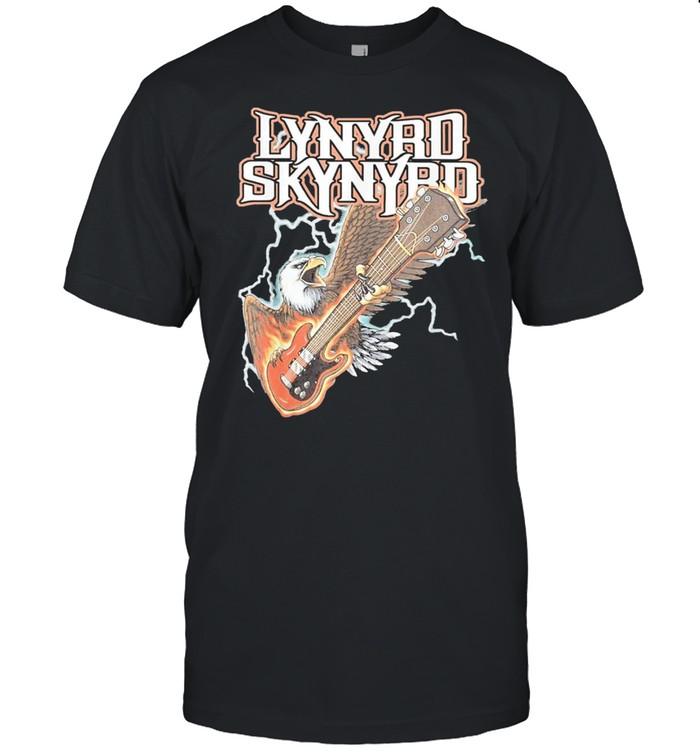 eagles lynyrds art skynyrds band music legend shirt Classic Men's T-shirt