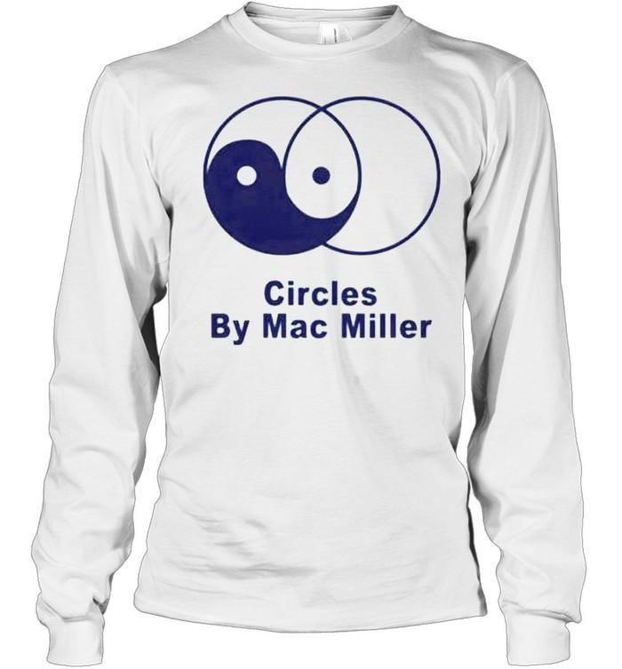 Circles by Mac Miller shirt Long Sleeved T-shirt