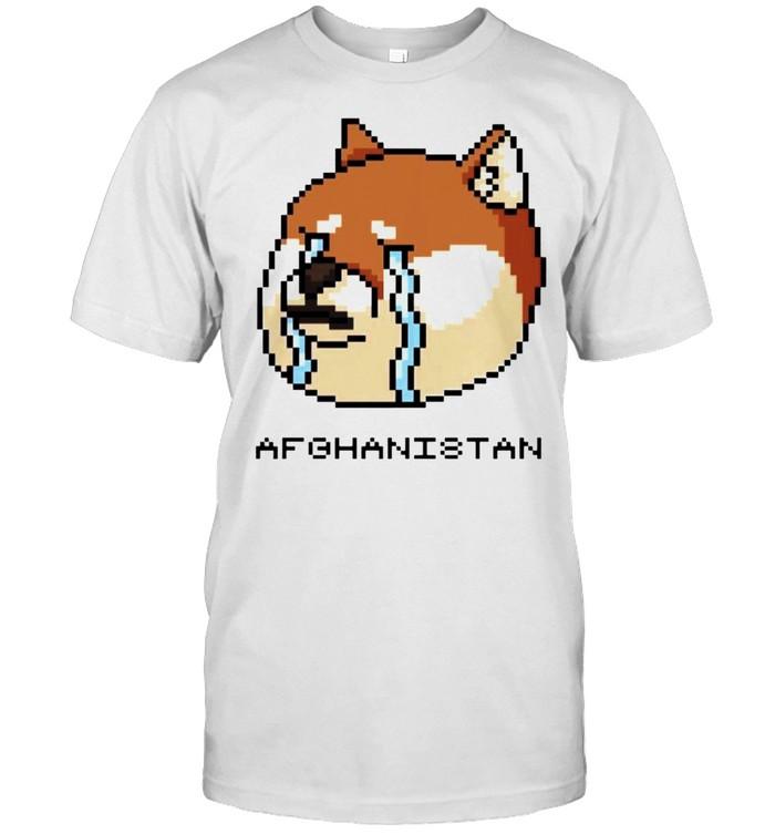 Afghanistan Doge meme cry shirt Classic Men's T-shirt
