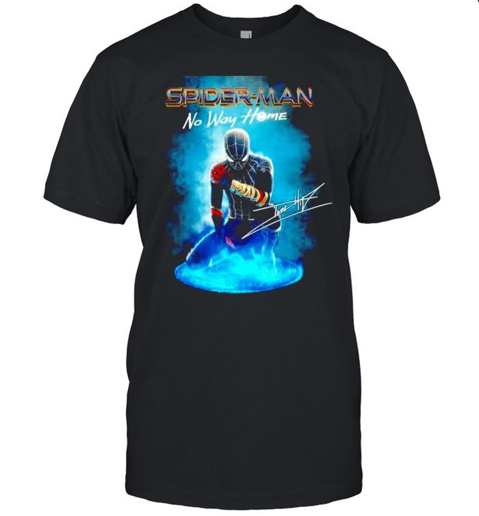 Spider Man No Way Home signatures poster shirt Classic Men's T-shirt