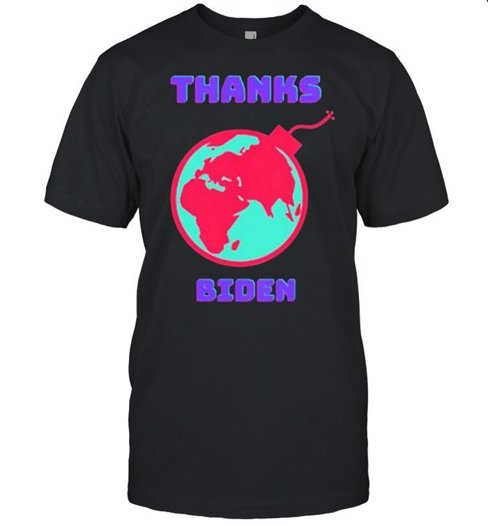 Thanks Biden shirt Classic Men's T-shirt