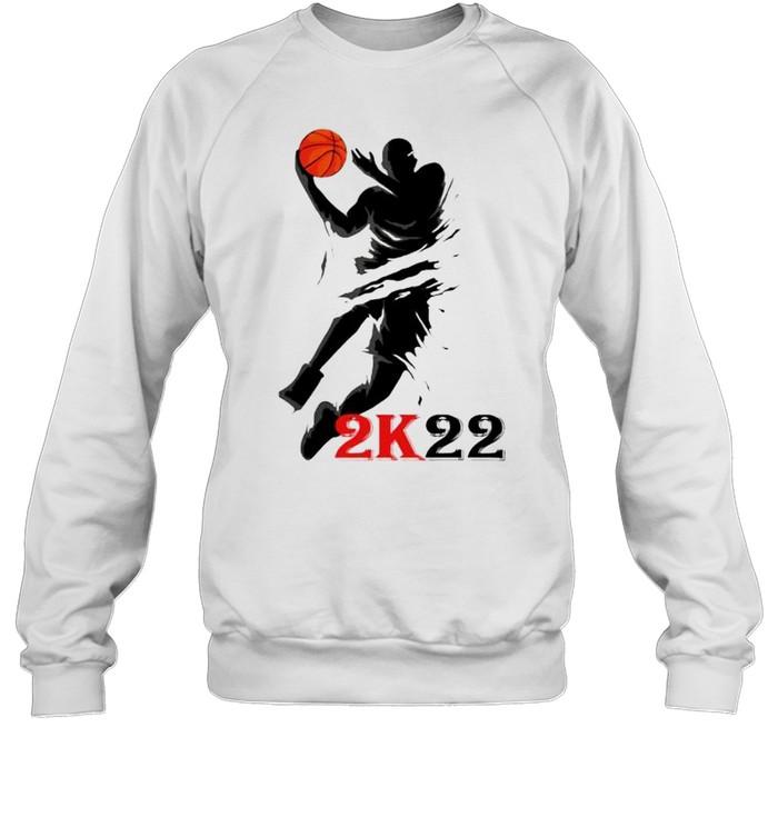 NBA 2K22 how to take your shirt Unisex Sweatshirt