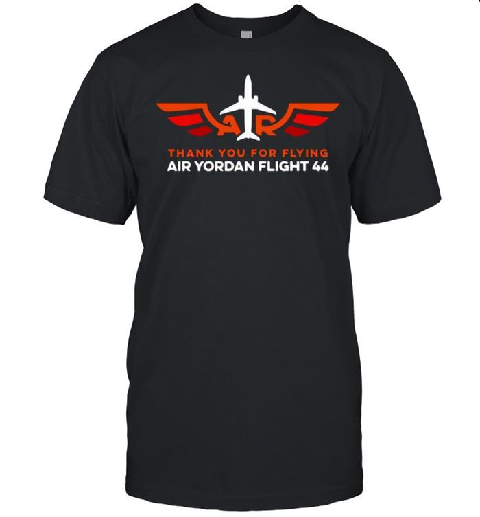 Thank You For Flying Air Yordan Flight 44 T-shirt Classic Men's T-shirt