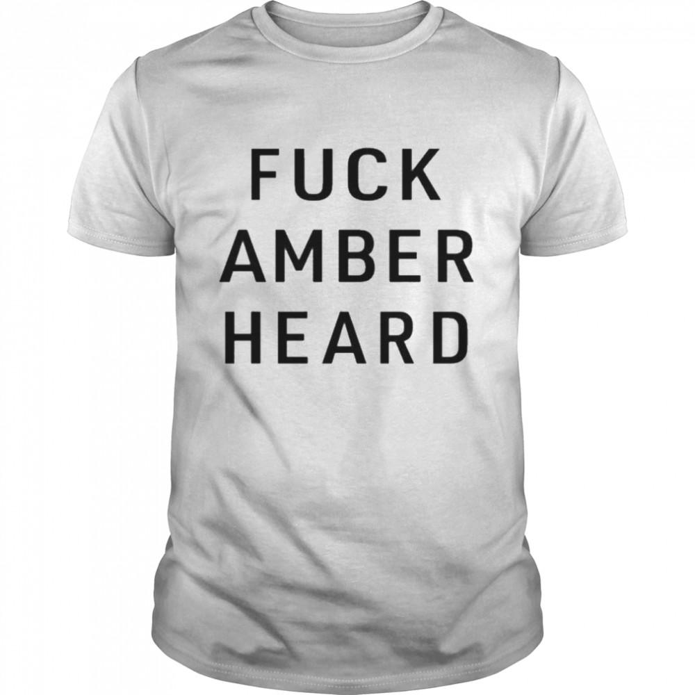 Fuck Amber Heard  Classic Men's T-shirt