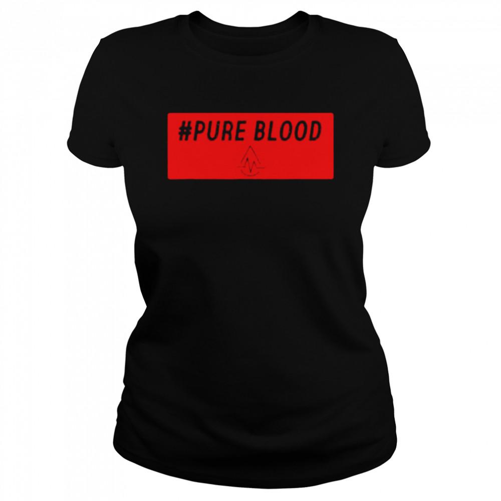 Pure Blood Movement 2021 T- Classic Women's T-shirt