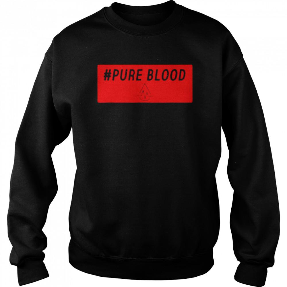 Pure Blood Movement 2021 T- Unisex Sweatshirt
