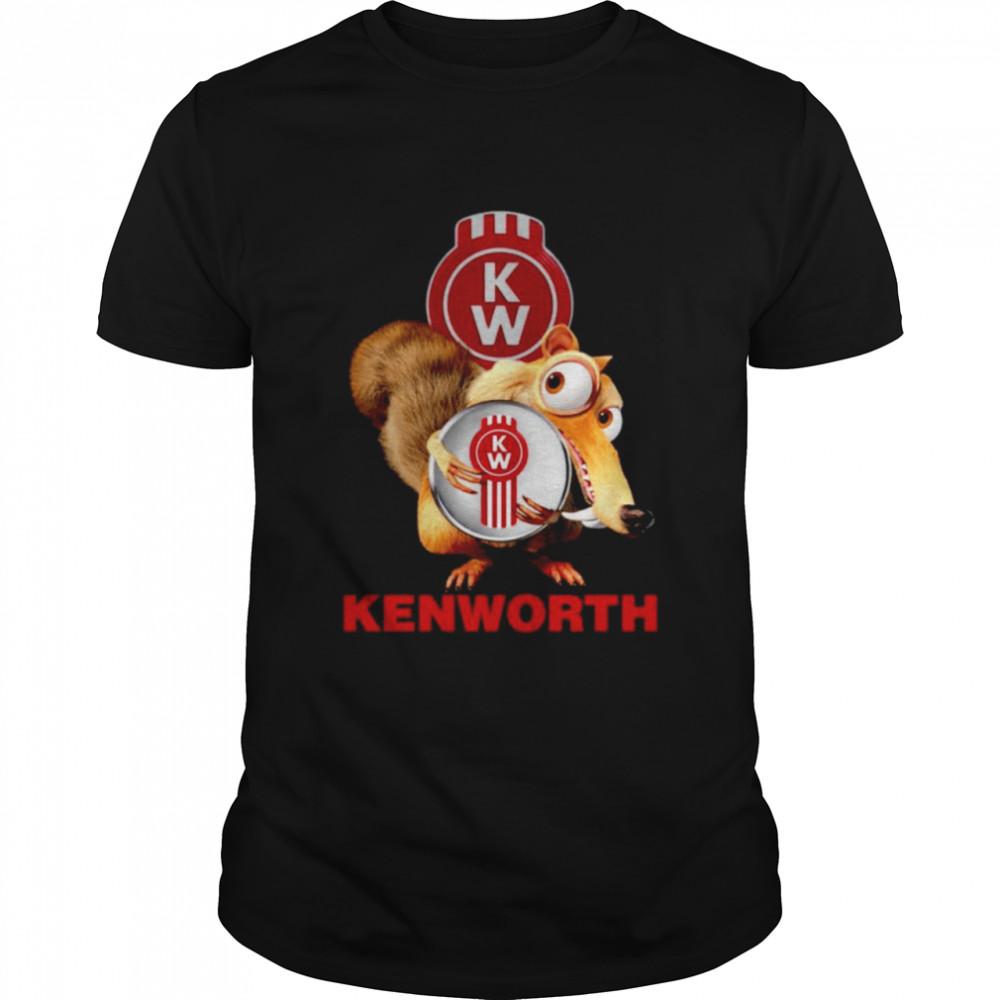 Ice Age hug Kenworth Truck logo shirt Classic Men's T-shirt
