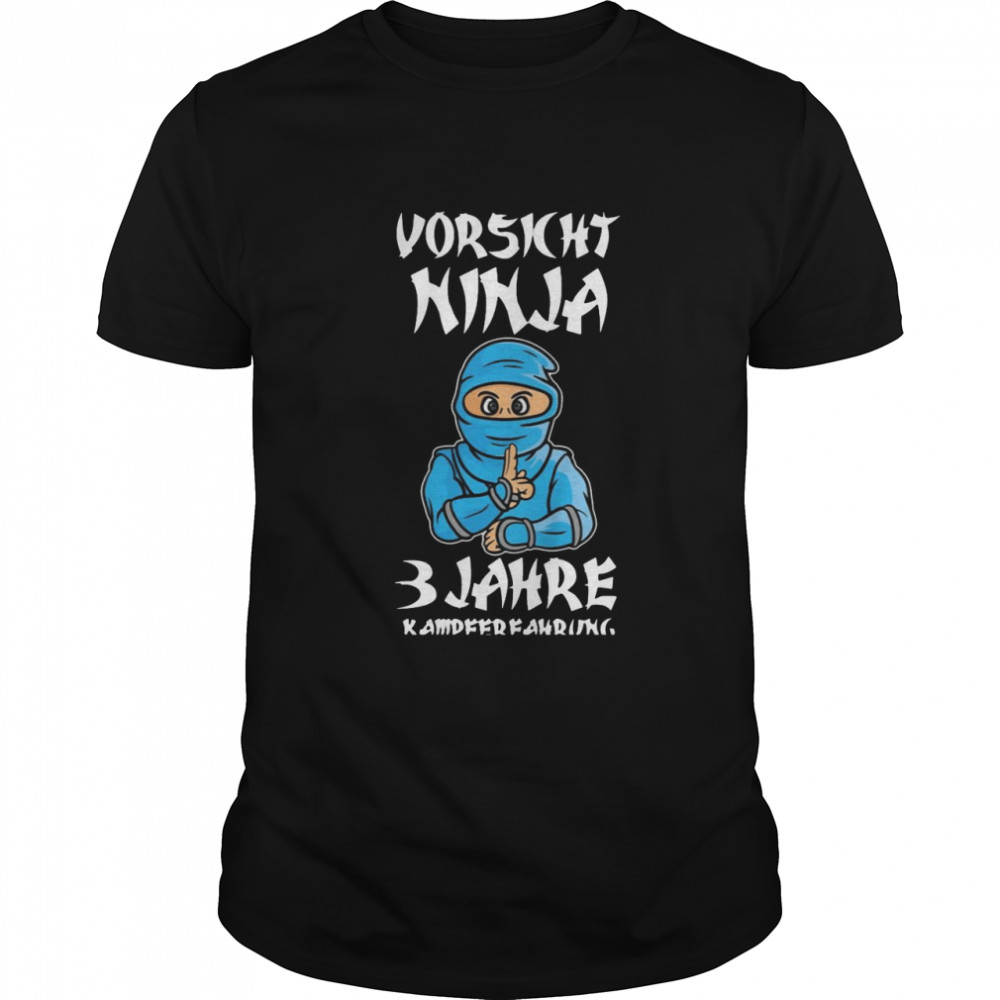 Kinder Ninja 3 Geburtstag 3 Jahre Jungen Mädchen Geschenk T-shirt Classic Men's T-shirt