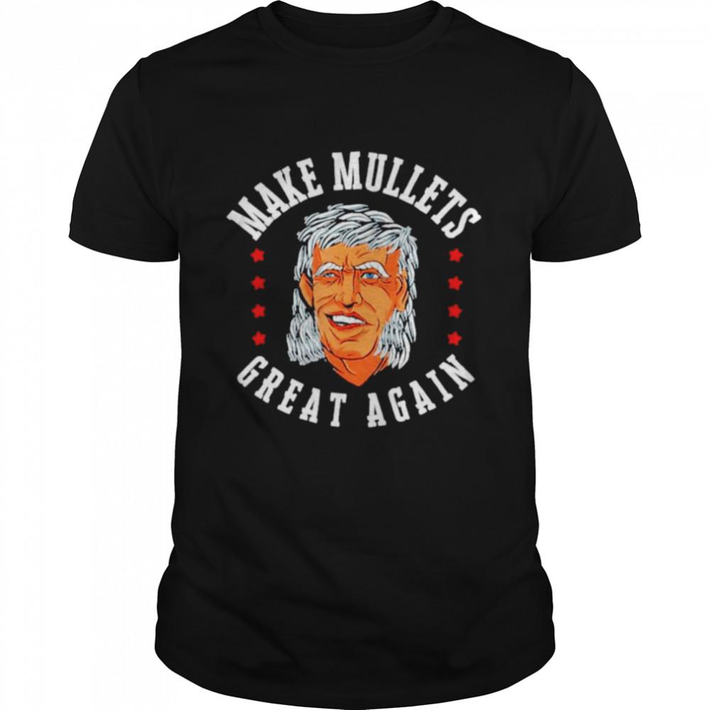 Men's Make Mullets Great Again Joe Biden shirt Classic Men's T-shirt