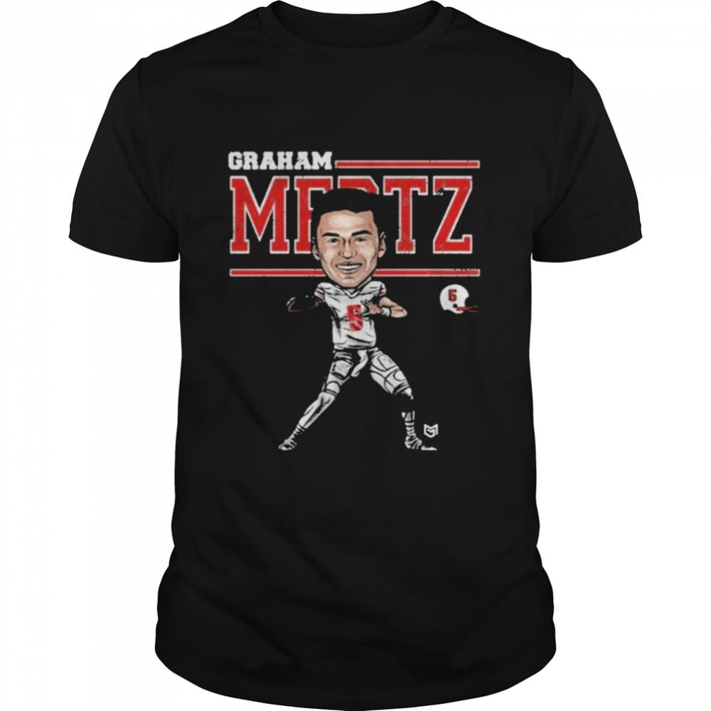 Graham Mertz Wisconsin Badgers Football  Classic Men's T-shirt