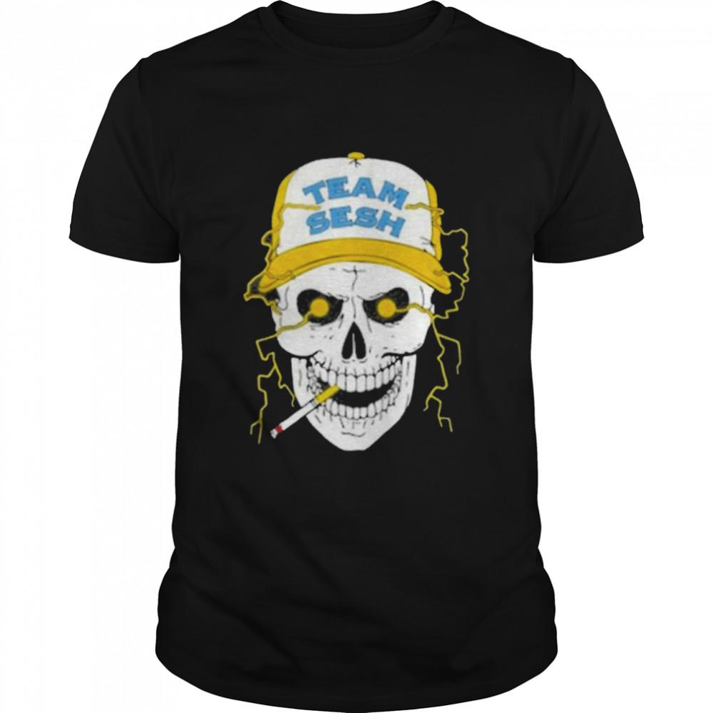 Skull Team Sesh  Classic Men's T-shirt