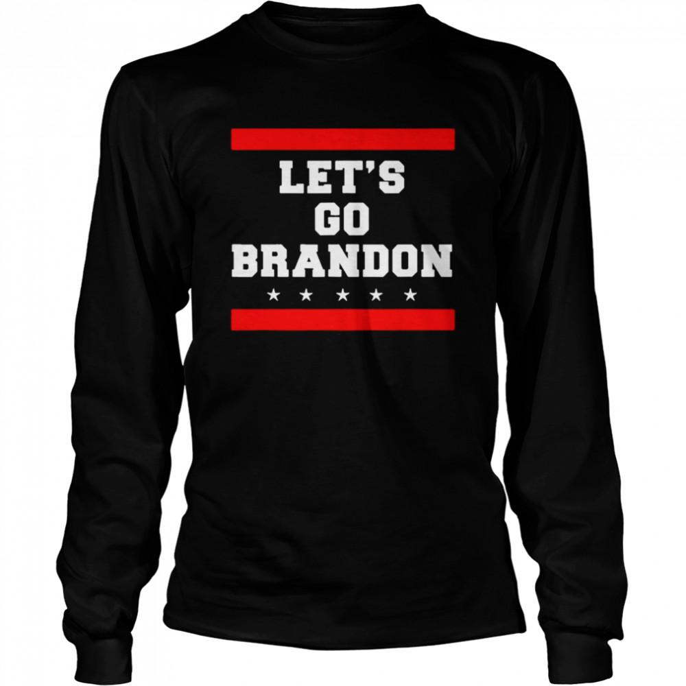 Let's Go Brandon Anti Joe Biden T- Long Sleeved T-shirt