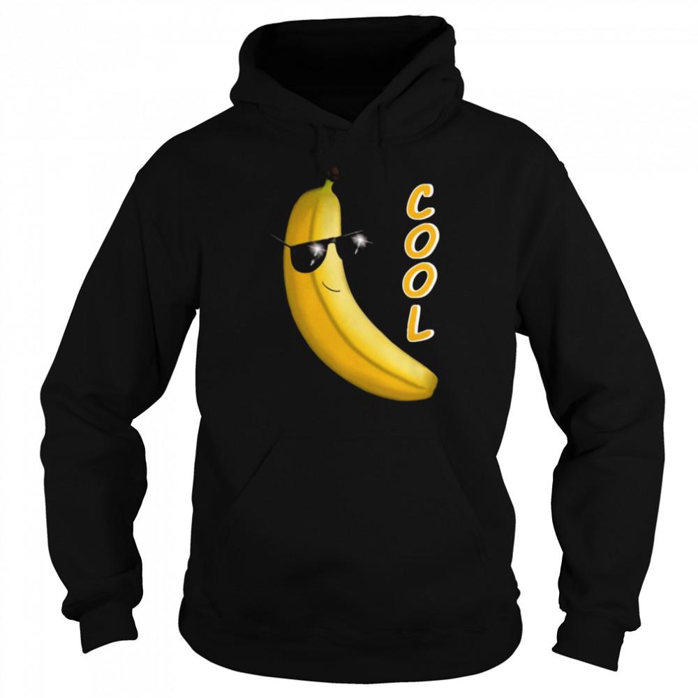 Banana cool sunglasses D0100227A  Unisex Hoodie